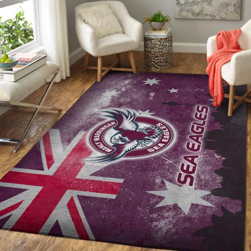 NRL Manly Warringah Sea Eagles Edition Carpet & Rug