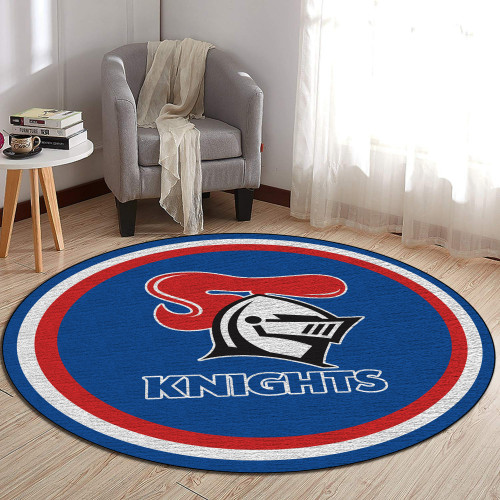 NRL Newcastle Knights Edition Round Rugs & Carpets