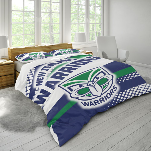 NRL New Zealand Warriors Edition Duvet Cover & 2 Pillow Cases Bedding Sets