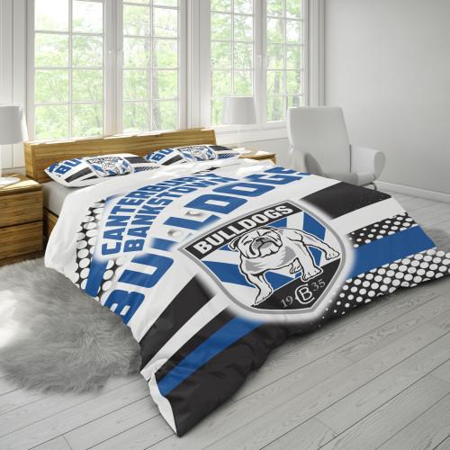NRL Canterbury-Bankstown Bulldogs Edition Duvet Cover & 2 Pillow Cases Bedding Sets