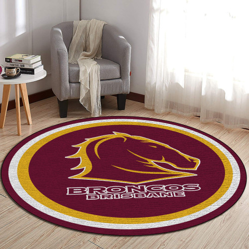 NRL Brisbane Broncos Edition Round Rugs & Carpets