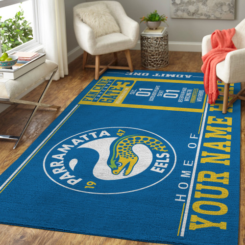 Custom NRL Parramatta Eels Edition Carpet & Rug