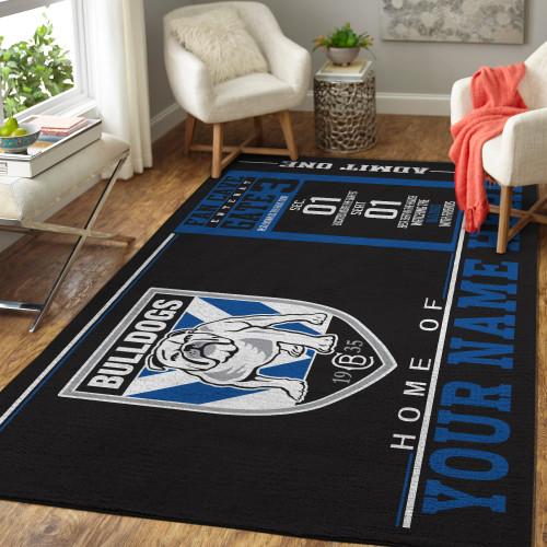 Custom NRL Canterbury-Bankstown Bulldogs Edition Carpet & Rug