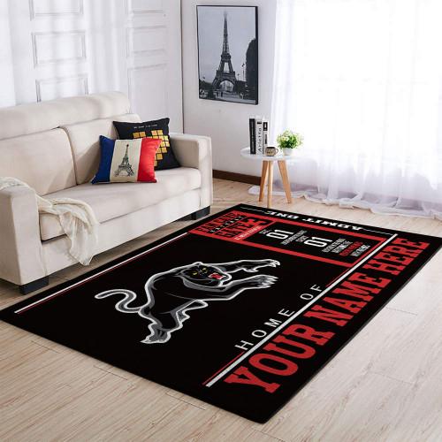 Custom NRL Penrith Panthers Edition Carpet & Rug