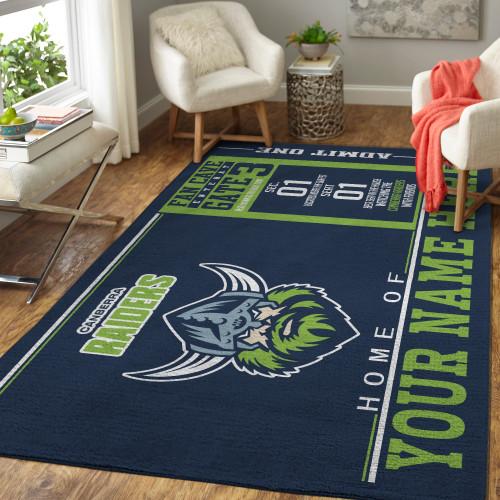 Custom NRL Canberra Raiders Edition Carpet & Rug