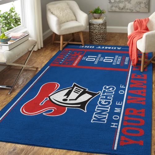 Custom NRL Newcastle Knights Edition Carpet & Rug