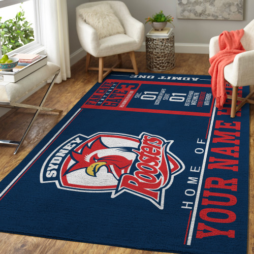 Custom NRL Sydney Roosters Edition Carpet & Rug