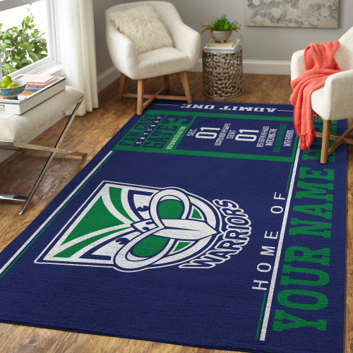 Custom NRL New Zealand Warriors Edition Carpet & Rug