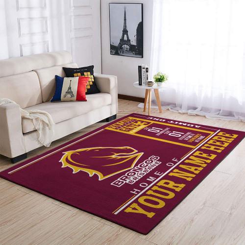 Custom NRL Brisbane Broncos Edition Carpet & Rug