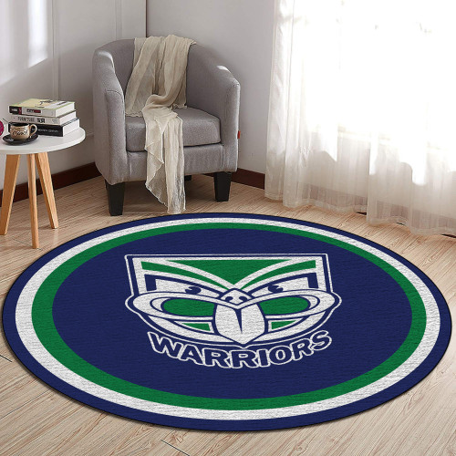 NRL New Zealand Warriors Edition Round Rugs & Carpets