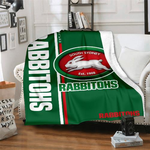 NRL South Sydney Rabbitohs Edition Blanket