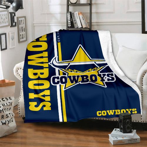 NRL North Queensland Cowboys Edition Blanket