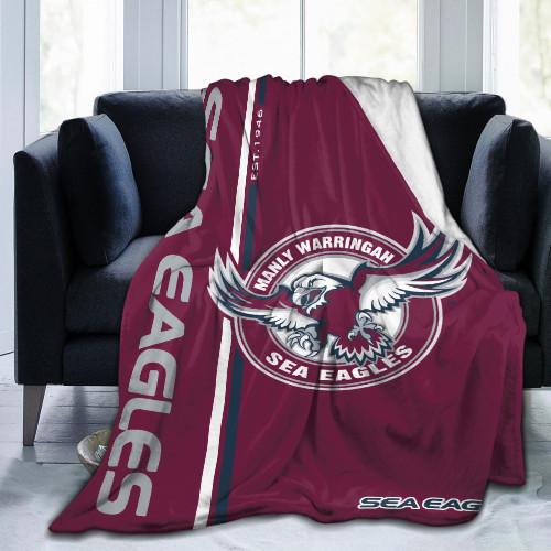NRL Manly Warringah Sea Eagles Edition Blanket