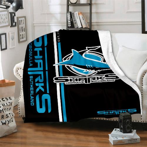 NRL Cronulla-Sutherland Sharks Edition Blanket