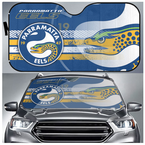 NRL Parramatta Eels Edition Car Windshield Sunshade