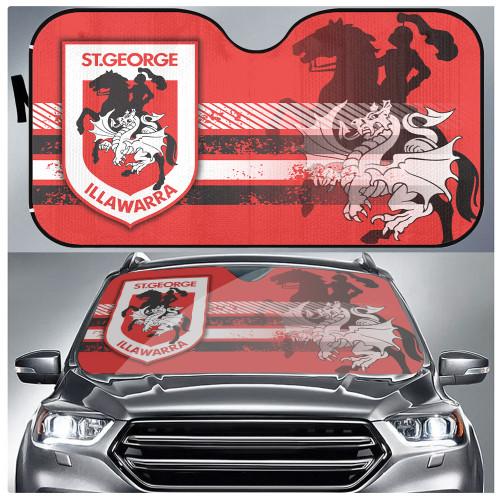 NRL St. George Illawarra Dragons Edition Car Windshield Sunshade