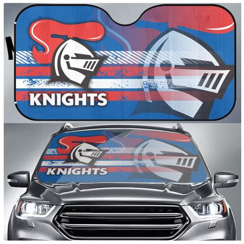 NRL Newcastle Knights Edition Car Windshield Sunshade