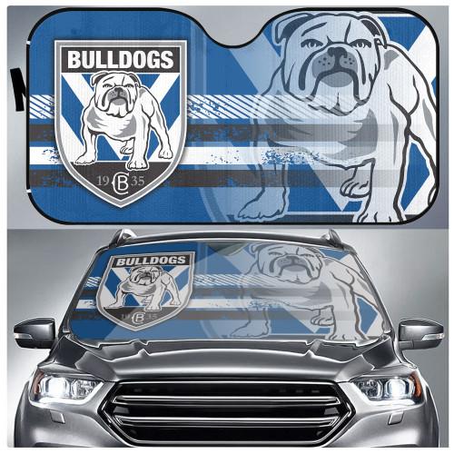 NRL Canterbury-Bankstown Bulldogs Edition Car Windshield Sunshade