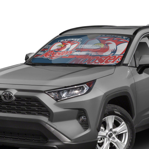 NRL Sydney Roosters Edition Car Windshield Sunshade