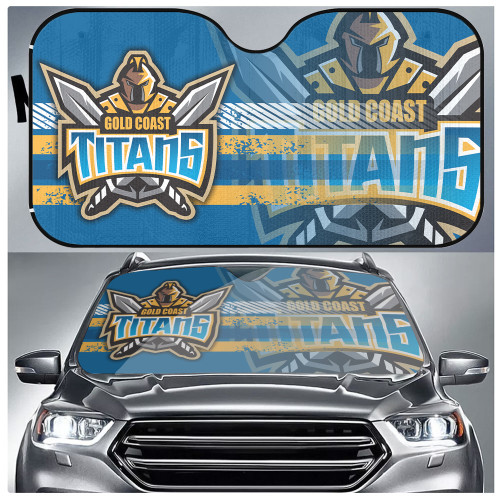 NRL Gold Coast Titans Edition Car Windshield Sunshade