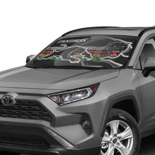 NRL Penrith Panthers Edition Car Windshield Sunshade