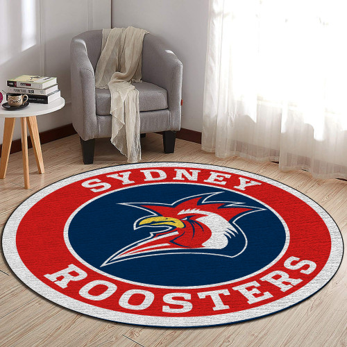 NRL Sydney Roosters Edition Round Rugs & Carpets