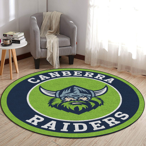 NRL Canberra Raiders Edition Round Rugs & Carpets