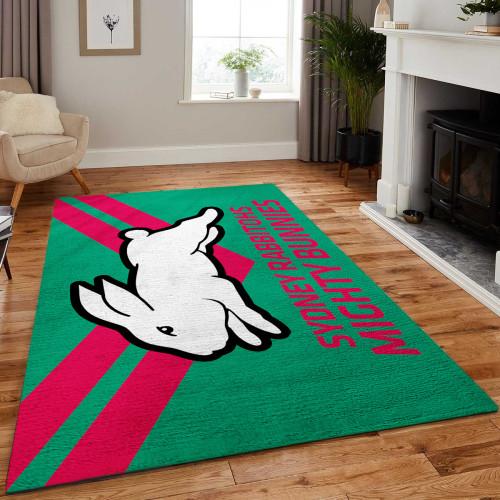 NRL South Sydney Rabbitohs Edition Carpet & Rug