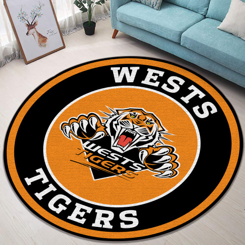 NRL Wests Tigers Edition Round Rugs & Carpets