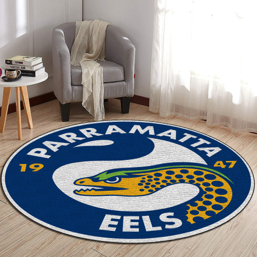 NRL Parramatta Eels Edition Round Rugs & Carpets