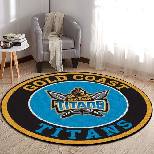 NRL Gold Coast Titans Edition Round Rugs & Carpets