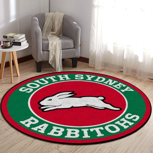 NRL South Sydney Rabbitohs Edition Round Rugs & Carpets