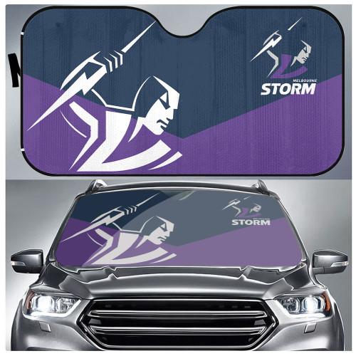 NRL Melbourne Storm Edition Car Windshield Sunshade