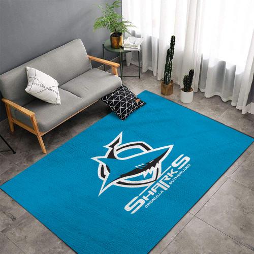 NRL Cronulla-Sutherland Sharks Edition Carpet & Rug