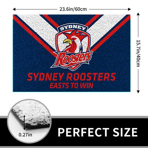 NRL Sydney Roosters Edition Edition Waterproof Welcome Door Mat