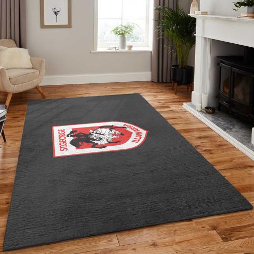 NRL St. George Illawarra Dragons Edition Carpet & Rug