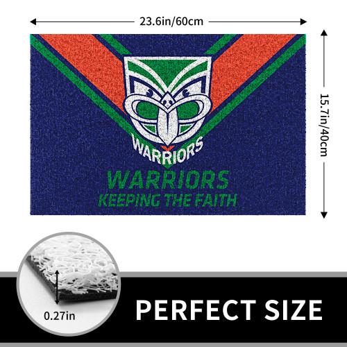 NRL New Zealand Warriors Edition Edition Waterproof Welcome Door Mat
