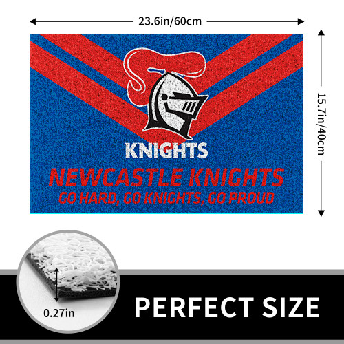 NRL Newcastle Knights Edition Edition Waterproof Welcome Door Mat