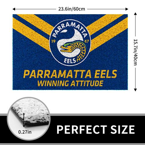 NRL Parramatta Eels Edition Edition Waterproof Welcome Door Mat