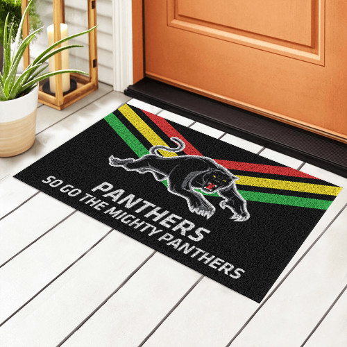 NRL Penrith Panthers Edition Edition Waterproof Welcome Door Mat