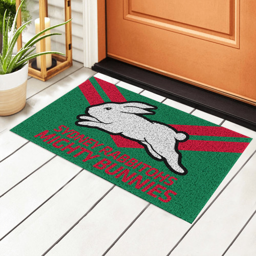 NRL South Sydney Rabbitohs Edition Edition Waterproof Welcome Door Mat