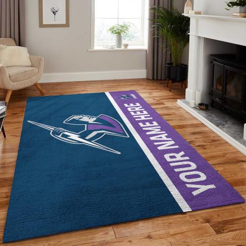 Custom NRL Melbourne Storm Edition Carpet & Rug