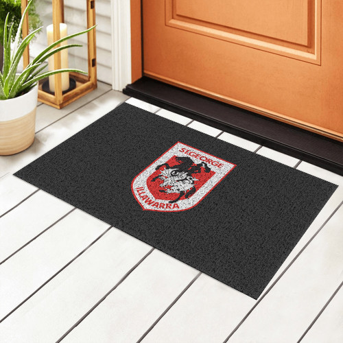 NRL St. George Illawarra Dragons Edition Waterproof Welcome Door Mat