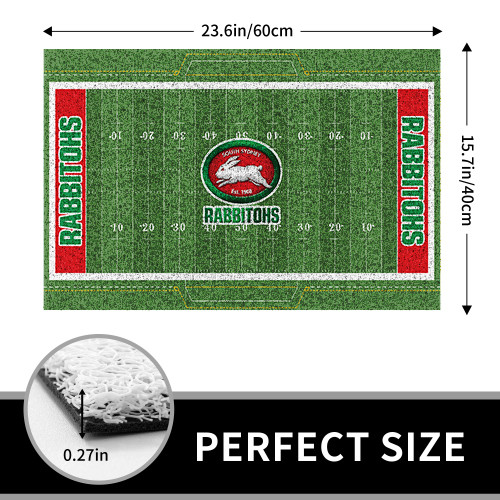 NRL South Sydney Rabbitohs Edition Waterproof Welcome Door Mat