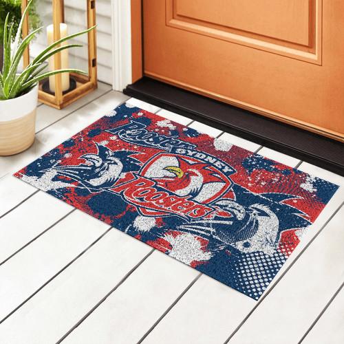 NRL Sydney Roosters Edition Waterproof Welcome Door Mat