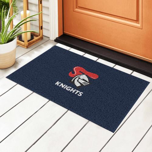 NRL Newcastle Knights Edition Waterproof Welcome Door Mat