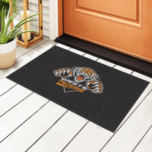 NRL Wests Tigers Edition Waterproof Welcome Door Mat