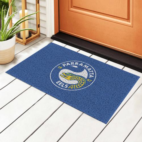 NRL Parramatta Eels Edition Waterproof Welcome Door Mat
