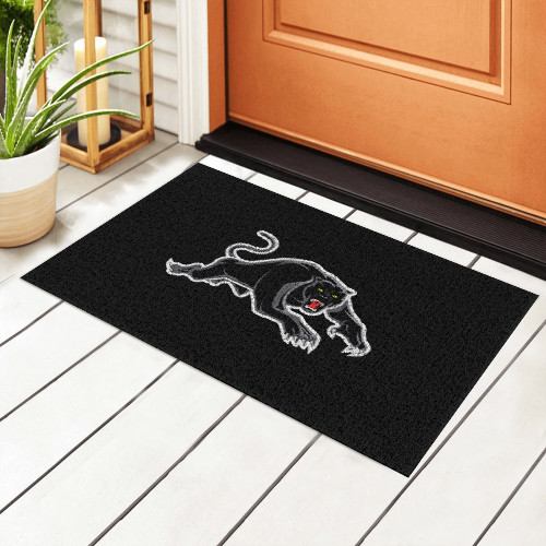 NRL Penrith Panthers Edition Waterproof Welcome Door Mat