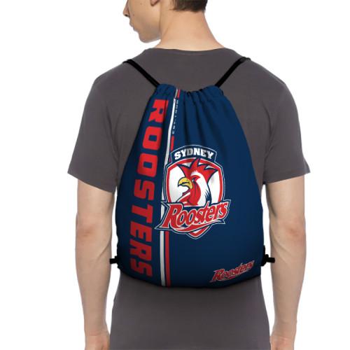 NRL Sydney Roosters Edition Drawstring Backpack Sports Gym Bag